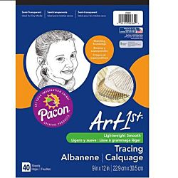 PACON, ART1ST TRACING PAD 9