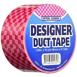 Just for Laughs JFL2535 Duct Tape, 10-Yard, Optical Illusion