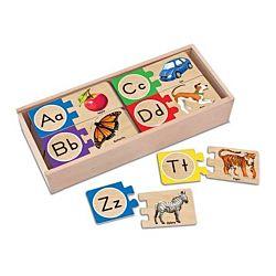 Melissa & Doug Self Correcting Alphabet Letter Puzzles, item 2541