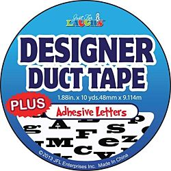 Just for Laughs Designer Duct Tape Plus Letters