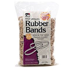Charles Leonard Rubber Bands, Tissue-style Box, #33, Beige/Natural pound