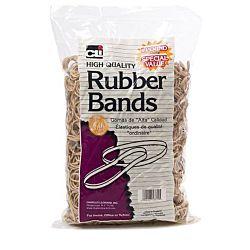 Charles Leonard Rubber Bands, #64, Beige/Natural 1 pound Bag
