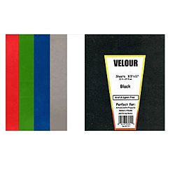 Hygloss Velour Poster Board Green - 8.5