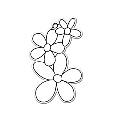 Kellys Suncatcher Bulk Three Flowers - Pack Of 6