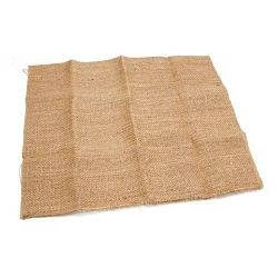 Natural Burlap Fabric Sheets 22 x 35 inches  6/Pack
