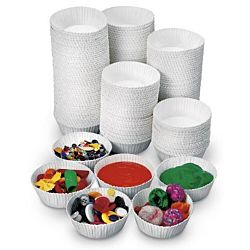 Disposable Craft Cups - white - pkg. of 100