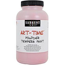Sargent Art 22-7120 1-Pound Art Time Powder Tempera, Red