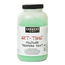 Sargent Art 22-7166 1-Pound Art Time Powder Tempera, Green