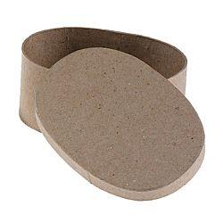 Paper Mache Box Oval 5