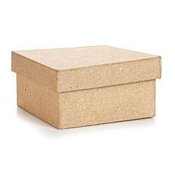 Paper Mache Box Square 4
