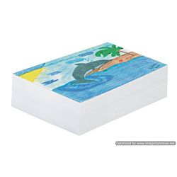 White Newsprint., 9 x 12 Inches, White, 500 Sheets/Pack 3407