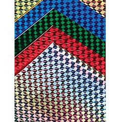 Hygloss Holographic Cardstock Mosaic Paper 8.5