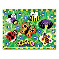 Melissa & Doug Insects Chunky Puzzle, 7 Pieces , item 3729