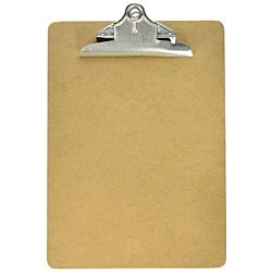 Clipboard - Masonite - Two Sided Smooth - Letter Size 9