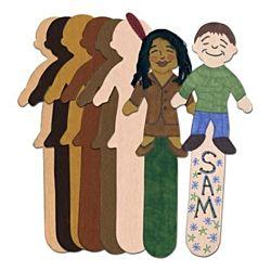 Skin Tone Craft Sticks - Kids