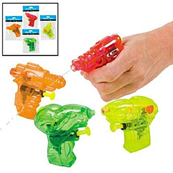 Plastic Water Gun Assortment, 12 units