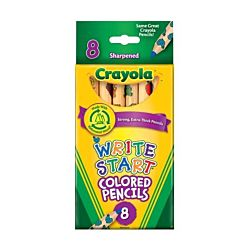 Crayola Write Start Colored Pencils 8 ct.