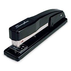 Swingline Desk Stapler, Commercial, 20 Sheet Capacity, Black , 44401