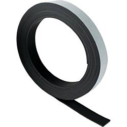 Magnetic Tape-Self-Adhesive, 1/2-Inch by 10-Feet Black