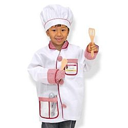 Melissa & Doug Chef Role Play Costume Dress-Up Set 4838