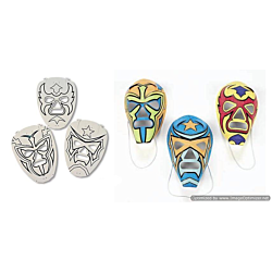 Paper Color Your Own Masks 12 masks per package.