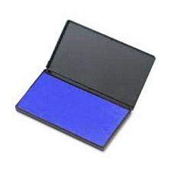 Large Rubber Felt Stamp Pad Blue 3 1⁄4