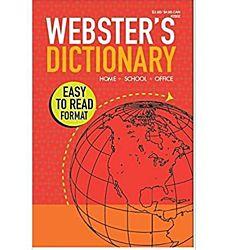 Webster's Dictionary Paperback