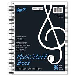 PACON MUSIC STAFF BOOK 11