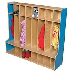 Wood Designs, Children 8 Section Locker 54