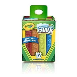 Crayola® Sidewalk Chalk Washable 12ct - 51-2012