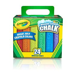 Crayola® Sidewalk Chalk Washable 24ct - 51-2024