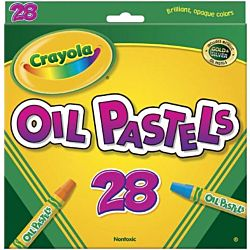 Crayola  Oil Pastels 28 Color 52-4628