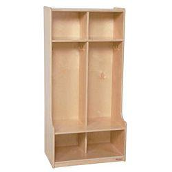 Wood Designs, Children 2 Section Locker, WD-52400