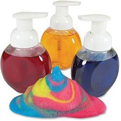 Foam Paint Bottles - Pack of 3