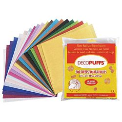 DECO PUFFS TISSUE 5.5