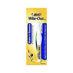 BIC Wite-Out Shake -N Squeeze Correction Pen, White