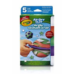 Crayola Air Dry Clay Variety Pack - Bright colors (57-2001)