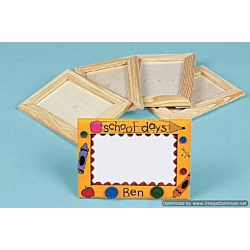 DIY Unfinished Wood Picture Frames 12 /pack