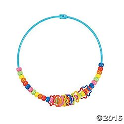Pony Bead Necklaces 24 Per Package