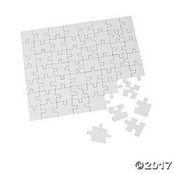 Cardboard Blank Puzzles - 8