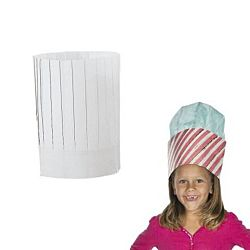 Design your own paper chef hats