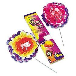 KolorFast 59600 Tissue Paper Flower Kit, 10