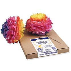 KolorFast 59660 Tissue Paper Flower Kit, 10