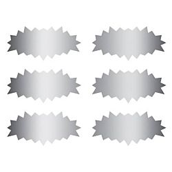 Eureka Star Bursts Scratch Off Stickers (627001)