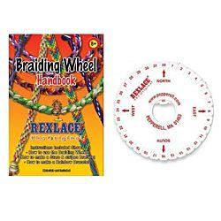 Foam Kumihimo Friendship Bracelet Braiding 1 Wheel per pack