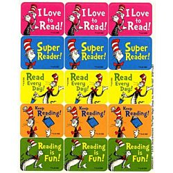 Eureka Cat in the Hat Reading Success Stickers (658022)