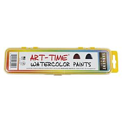 Sargent Art 66-8000 Art Time 8-Count Watercolor Pan Set with Brush