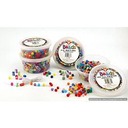 Hygloss Starburst Bucket O Beads 18mm, 300 per pack