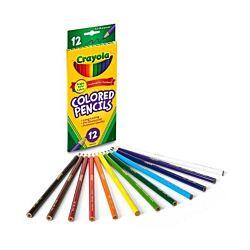 Crayola Colored Pencils, Long 12 ct.