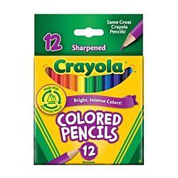 Crayola Short Colored Pencils 12 ct.